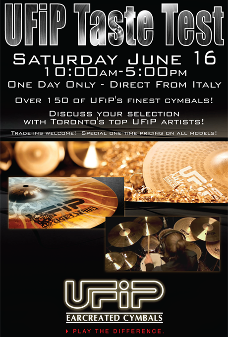 Soul Drums. UFiP Cymbals