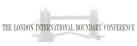 London International Boundary Conference 2013. Logo